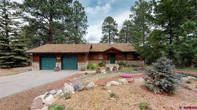 Durango Single Family Home For Sale: 1286 Oak Drive