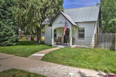 La Plata County Single Family Home For Sale: 2024 W 2nd Avenue