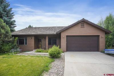 Durango Single Family Home For Sale: 250 Cottonwood Creek Road