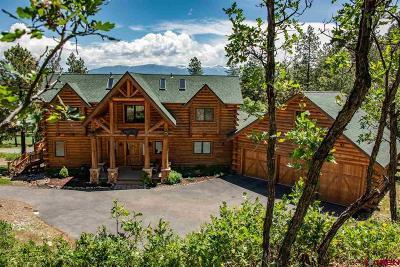 Pagosa Springs Single Family Home NEW: 855 Bristlecone Drive