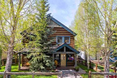 Crested Butte Single Family Home For Sale: 705 Teocalli Avenue