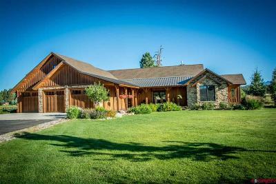 Pagosa Springs Single Family Home NEW: 1334 Lakeside Drive