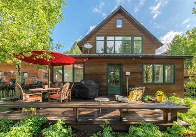 Crested Butte Single Family Home For Sale: 720 Sopris Avenue