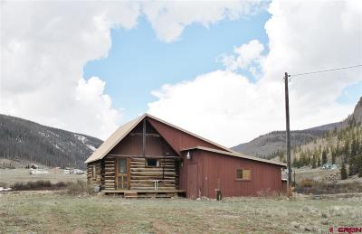 Creede Single Family Home For Sale: 4100 Usfs Road 515 #308
