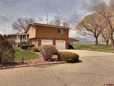 Cortez Single Family Home For Sale: 24733 Road M
