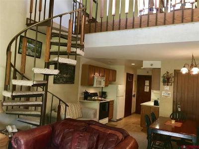 Durango Condo/Townhouse For Sale: 314 N Tamarron Drive #340
