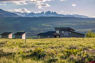 Gunnison County Single Family Home For Sale: 515 Hawk Drive