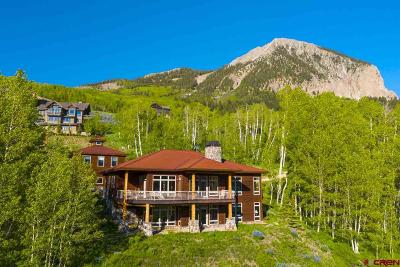 Mt. Crested Butte Single Family Home For Sale: 6 Peakview Drive