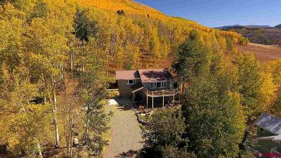 Gunnison County Single Family Home For Sale: 76 Peeler Lane