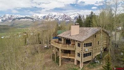 Mt. Crested Butte Single Family Home UC/Contingent/Call LB: 102 Anthracite Drive