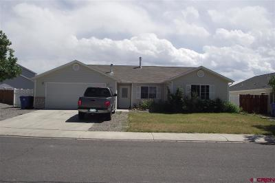 Montrose CO Single Family Home UC/Contingent/Call LB: $234,950
