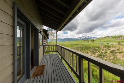 Mt. Crested Butte Condo/Townhouse For Sale: 27 Crystal Road #4