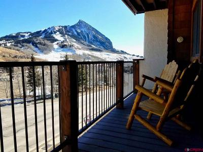 Mt. Crested Butte Condo/Townhouse For Sale: 701 Gothic Road #R201