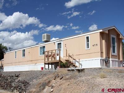 Cedaredge Mobile/Manufactured For Sale: 475 NW 9th Street