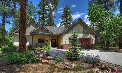 Durango Single Family Home For Sale: 42 Window Lake Trail