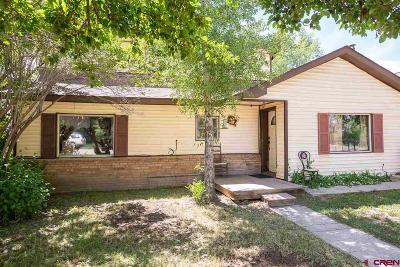 Gunnison Single Family Home For Sale: 215 S 7th Street
