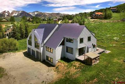 Mt. Crested Butte Single Family Home For Sale: 26 Cinnamon Mt. Road