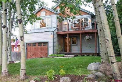 Crested Butte Single Family Home For Sale: 722 Elk Avenue