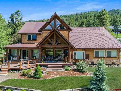 Pagosa Springs Single Family Home UC/Contingent/Call LB: 641 Buck Drive