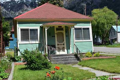 Ouray Single Family Home UC/Contingent/Call LB: 301 2nd Street