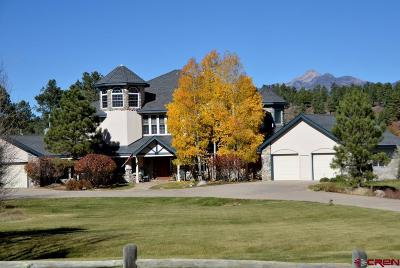 Pagosa Springs Single Family Home For Sale: 53 Fremont Court #3.57 Acr