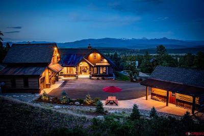 Pagosa Springs Single Family Home UC/Contingent/Call LB: 265 Kelseya Circle