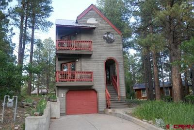 Pagosa Springs Single Family Home For Sale: 41 N Emissary Court