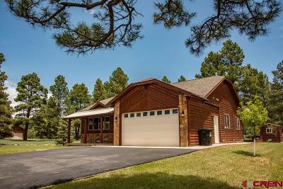Pagosa Springs Single Family Home For Sale: 1501 Lake Forest Circle