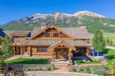 Gunnison County Single Family Home For Sale: 340 Wright Ranch Road