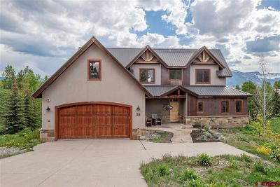 Mt. Crested Butte CO Single Family Home UC/Contingent/Call LB: $1,349,000