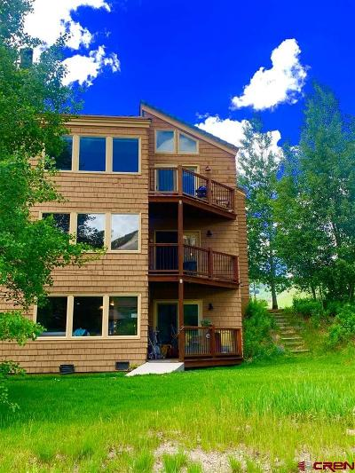 Gunnison County Condo/Townhouse For Sale: 251 Slate River Drive #2