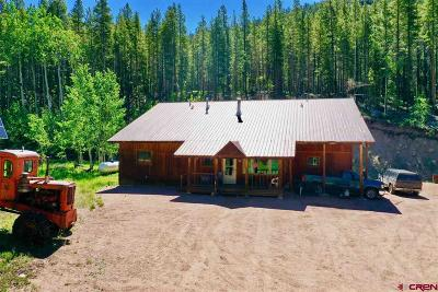 Gunnison County Single Family Home For Sale: 5498 County Road 771