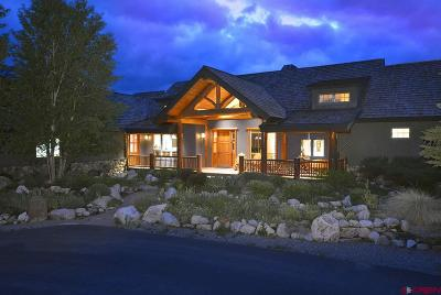 Gunnison County Single Family Home For Sale: 644 Sunset Drive