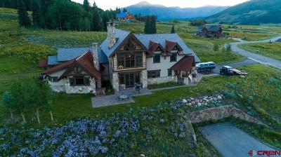 Almont, Crested Butte, Mt. Crested Butte Single Family Home For Sale: 20 Walking Deer Lane