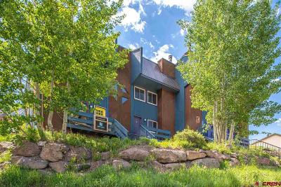 Mt. Crested Butte Condo/Townhouse For Sale: 22 Castle Road #2