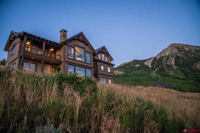 Mt. Crested Butte Single Family Home For Sale: 12 Summit Road
