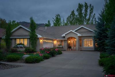 Durango Single Family Home UC/Contingent/Call LB: 66 Troon Trail