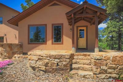 Pagosa Springs Single Family Home For Sale: 1084 Bristlecone Drive