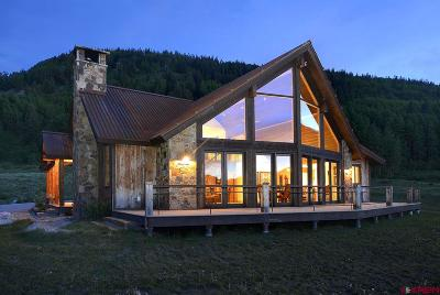 Crested Butte Single Family Home For Sale: 94 Hidden Mine Road