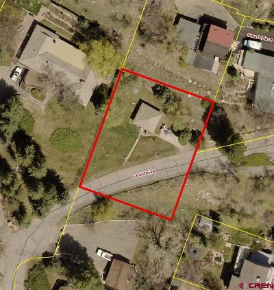 Durango Residential Lots & Land For Sale: 2 Carol Place