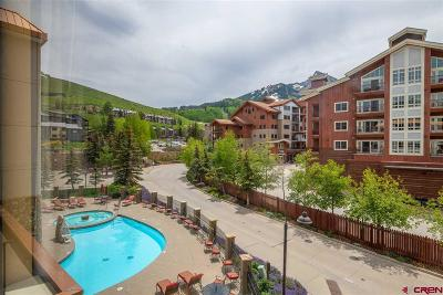 Mt. Crested Butte Condo/Townhouse For Sale: 6 Emmons Road #369
