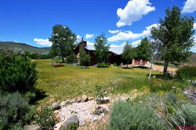 Gunnison Single Family Home For Sale: 565 Antelope Road