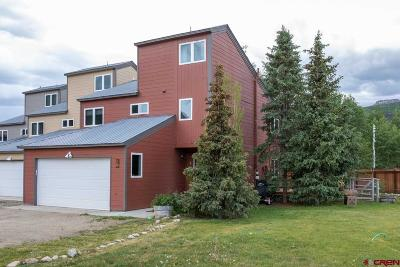 Gunnison County Condo/Townhouse For Sale: 36 Endner Place #1