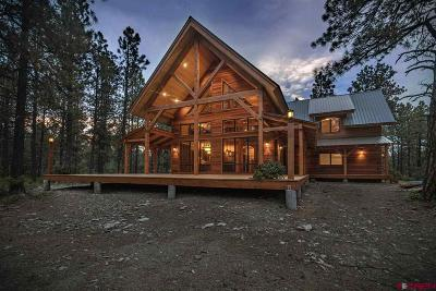 Pagosa Springs Single Family Home For Sale: 1275 Majestic