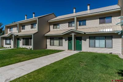 Pagosa Springs Condo/Townhouse For Sale: 284 Talisman Drive #6