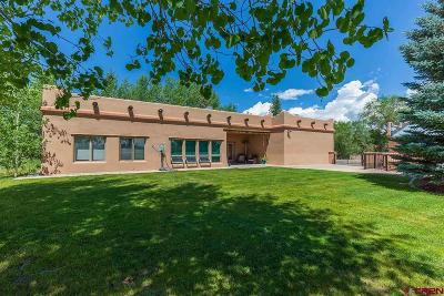 Durango Single Family Home For Sale: 606 Hwy 172