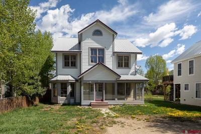 Crested Butte Single Family Home For Sale: 817 Red Lady Avenue