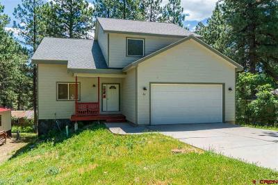 Durango Single Family Home UC/Contingent/Call LB: 65 Trail Wood Drive