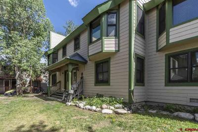 Crested Butte Condo/Townhouse For Sale: 622 Teocalli Avenue #C6