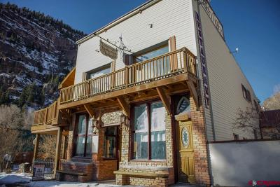 Ouray Single Family Home For Sale: 118 7th Avenue